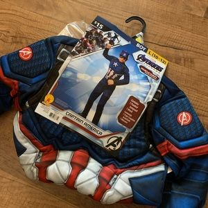 Captain America Boys 10-12